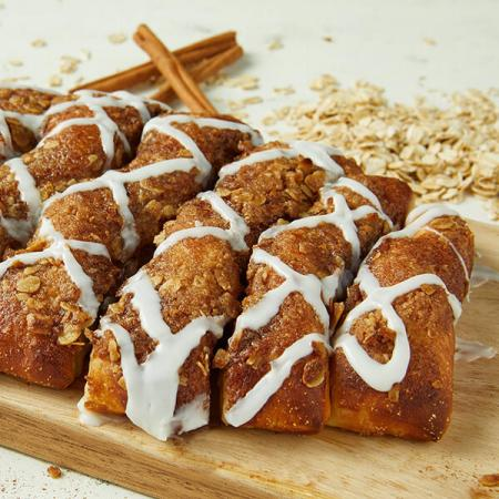 $3.99 Cinnamon Bread with Large Pizza